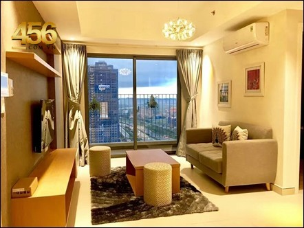 Masteri Thao Dien apartment for rent nice furniture in Tower 5