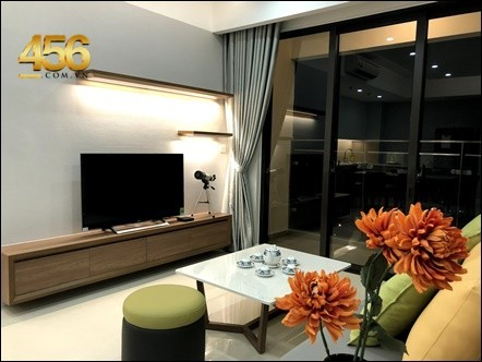 2 Bedrooms Estella Height apartment for rent in Tower 1 high floor