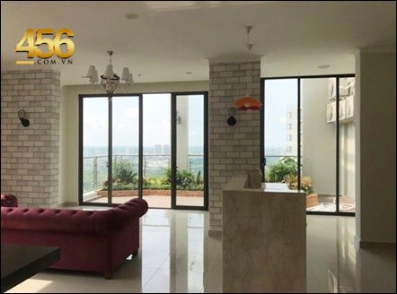 Penthouse Masteri Thao Dien apartment for rent morden