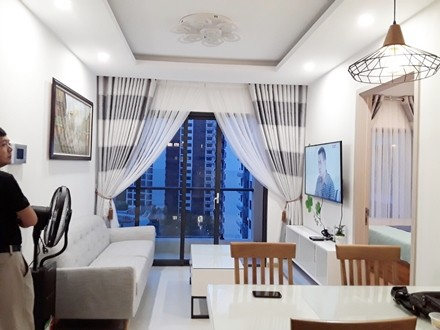 New City Thu Thiem Apartment 2 Bedrooms for Rent Pool view