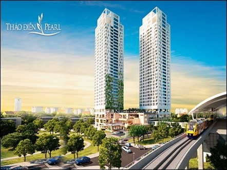 Thao Dien Pearl Apartment in District 2 HCMC